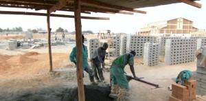 Malawi, wyrob cegly pod cisnieniem