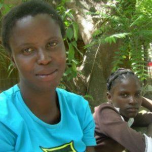 Natasza w Chilombo, przybraną mamą