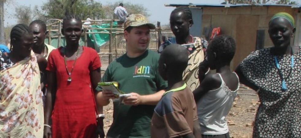 O. Tomasz Nogaj, misjonarz w Sudanie Południowym