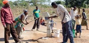 Odwiety wodne w parafii Chikuni