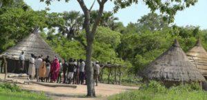 04. Spotkanie starszyzny klanu Dinka z mieszkańcami wioski
