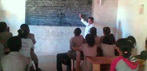 W klasie podczas lekcji. (2)