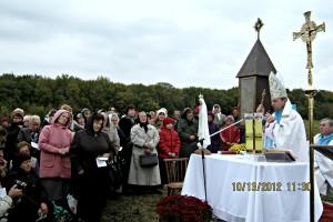 10. 09. msza św. - poświęcenie kapliczki bł. J. Beyzyma