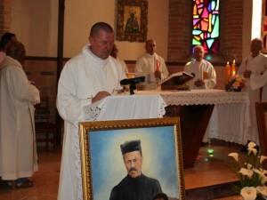 Podczas Mszy św. w urocz. wspomniania 100-lecia śmierci o. J. Beyzyma