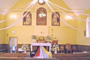 01. Kościół parafialnyh św. Anny, wewnątrz.