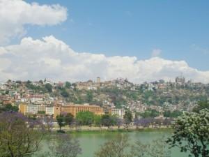 Antananarivo, widok na Collège ŚW. MICHAŁA, gdzie pracował