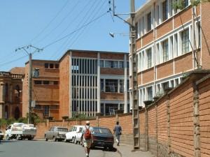 Budynki dziedziniec Collège ŚW. MICHAŁA